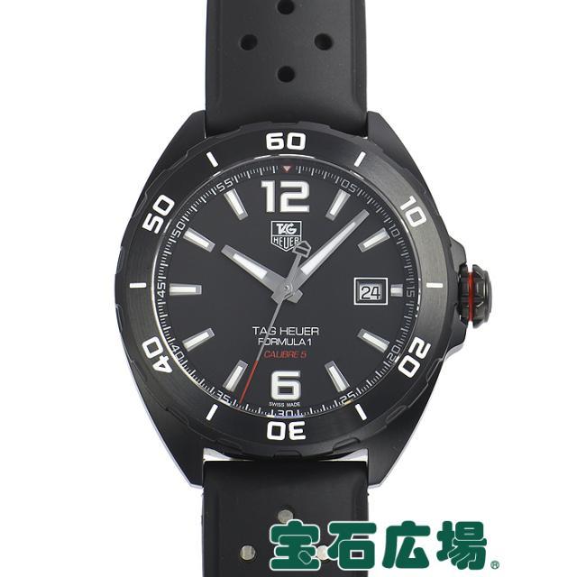 タグ・ホイヤー フォーミュラー1 キャリバー5 フルブラック WAZ2115.FT8023 中古 メンズ 腕時計 送料・代引手数料無料