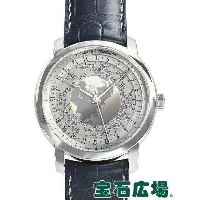 ヴァシュロン・コンスタンタン トラディショナル ワールドタイム タイムコレクション エクセレンスプラチナ 世界限定100本 86060/000P-9979 中古 メンズ 腕時計