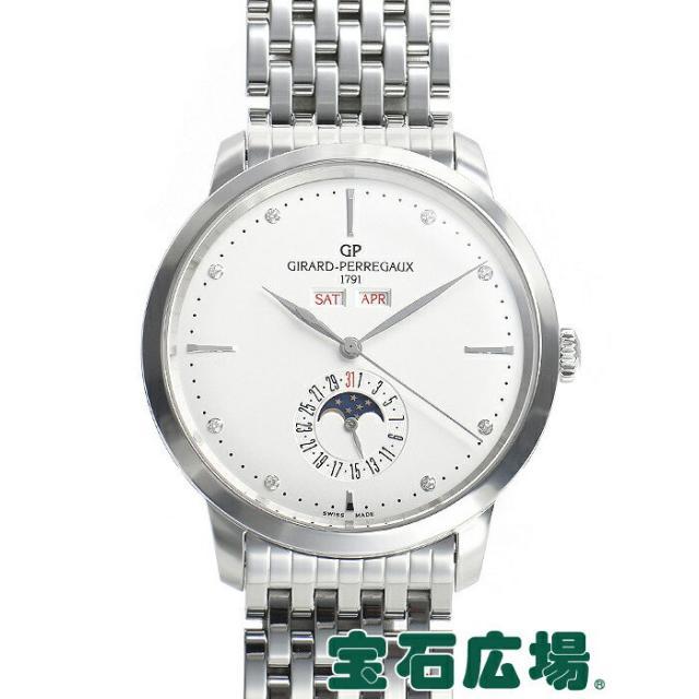 ジラール・ペルゴ Girard-Perregaux 1966フルカレンダー 49535-11-1A2-11A 中古 メンズ 腕時計