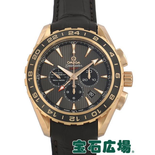 オメガ OMEGA シーマスター アクアテラ GMT クロノグラフ 231.53.44.52.06.001 中古 メンズ 腕時計 送料・代引手数料無料