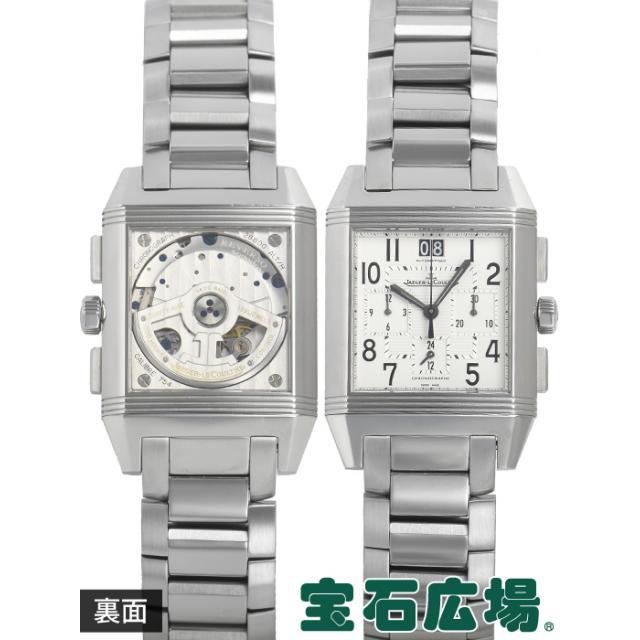 ジャガー・ルクルト Jaeger-LeCoultre レベルソスクアドラ クロノグラフ GMT Q7018120 中古 メンズ 腕時計