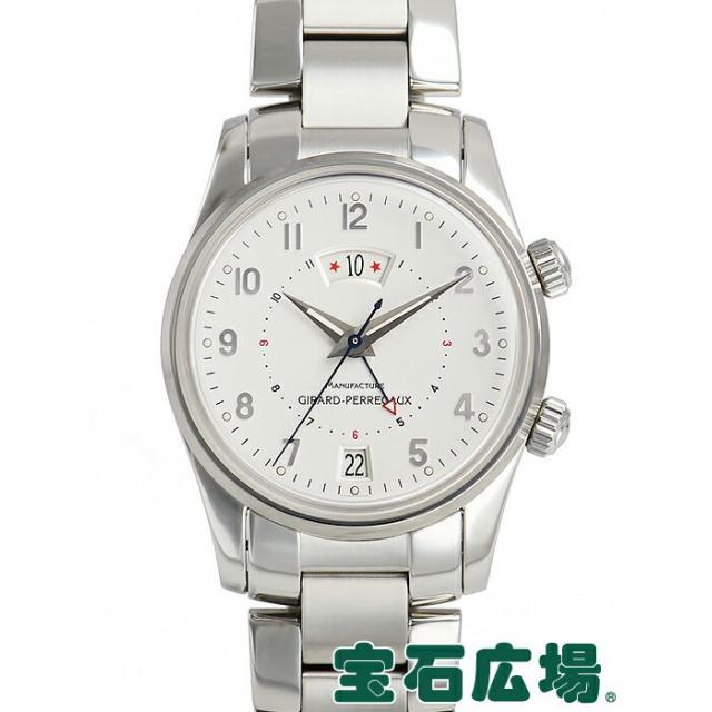 ジラール・ペルゴ GIRARD PERREGAUX トラベラーII 4940 中古 メンズ 腕時計 送料・代引手数料無料