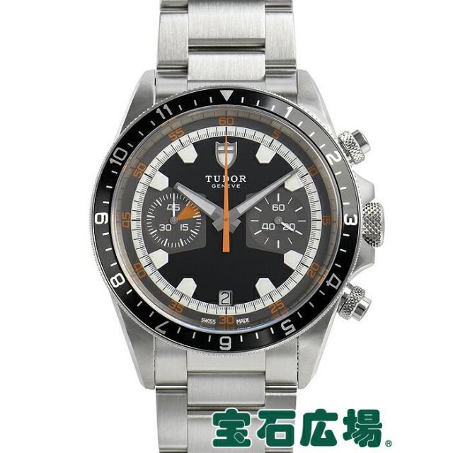 チュードル TUDOR ヘリテージ クロノ 70330N 中古 メンズ 腕時計