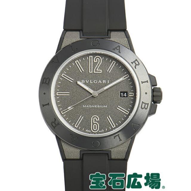 ブルガリ BVLGARI ディアゴノ マグネシウム DG41C14SMCVD 中古 メンズ 腕時計 送料・代引手数料無料