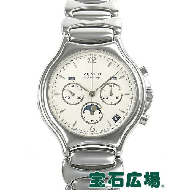 ゼニス ZENITH トリプルカレンダー ムーンフェイズ クロノグラフ 02.6000.410 中古 メンズ 腕時計 送料・代引手数料無料