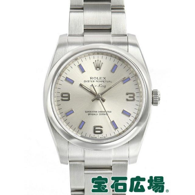 ロレックス ROLEX エアキング 114200 中古 メンズ 腕時計 送料・代引手数料無料