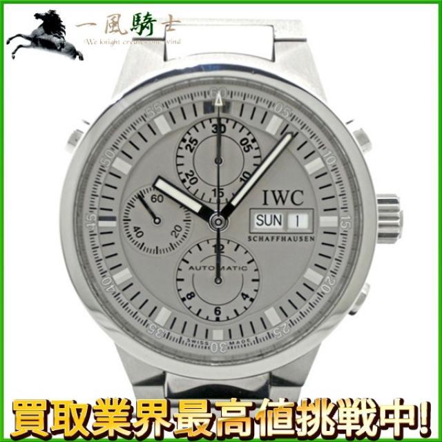 153847 送料無料 中古 IWC インターナショナル・ウォッチ・カンパニー GST クロノグラフ ラトラパンテ IW371508