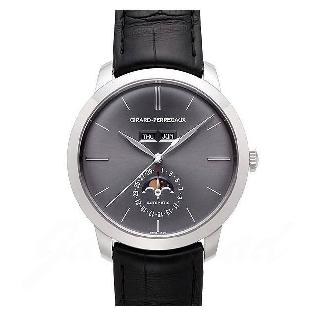ジラール・ペルゴ GIRARD PERREGAUX 1966 フルカレンダー 49535-53-251-BK6A 新品 時計 メンズ