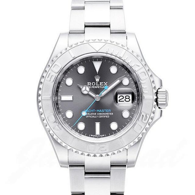 promo code a4481 94984 ロレックス ROLEX ヨットマスター ロレジウム 116622 中古 時計 ...