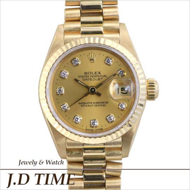 buy online 98da8 85012 ROLEX ロレックス デイトジャスト 69178G/L番 自動巻 レディース ...