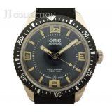 ORIS オリス メンズ腕時計 ダイバーズ65 SS×ラバー オートマチック(AT:自動巻き) デイト ブラック文字盤 01 733 7707 4064-07 4 20 18 中古 [hs]