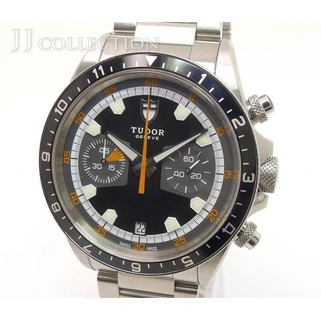 TUDOR チュードル ヘリテイジ クロノグラフ メンズウォッチ 70330N 腕時計 中古 [iw]