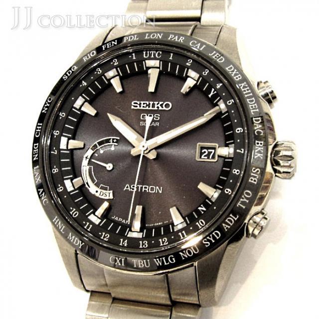 SEIKO セイコー アストロン 8X22-0AG0 GPSソーラーウオッチ 衛星電波時計 中古