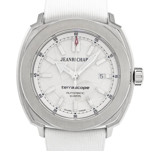 ジャンリシャール テラスコープ SS ラバー 腕時計 JEANRICHARD 60500-11-703-FK7A 中古