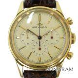 モバード MOVADO 金無垢クロノグラフ 14K Cal.95M搭載 1960年代頃製造 メンズ腕時計 my 中古