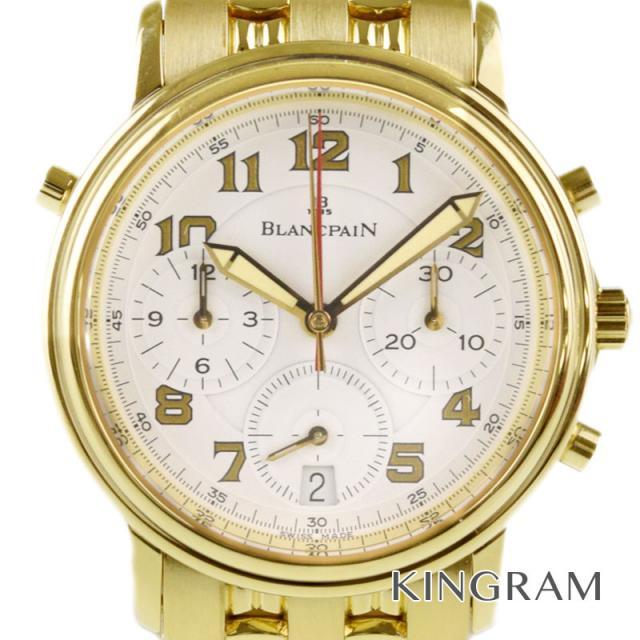 ブランパン BLANCPAIN ヴィルレスプリットセコンドクロノグラフ YG メンズ 腕時計 my 中古
