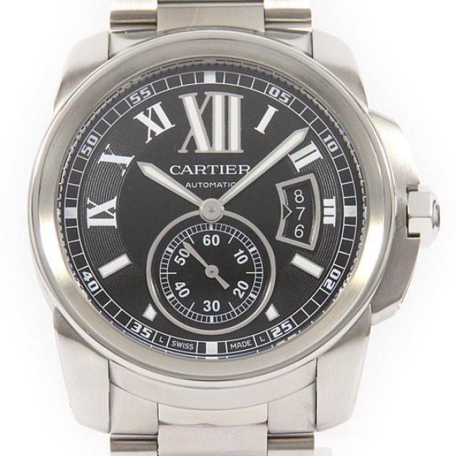 カルティエ W7100016 カリブル・ドゥ・カルティエ 自動巻 中古