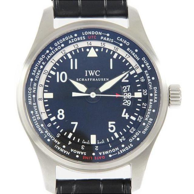 IWC IW326201 パイロットウォッチワールドタイマ− 自動巻 中古