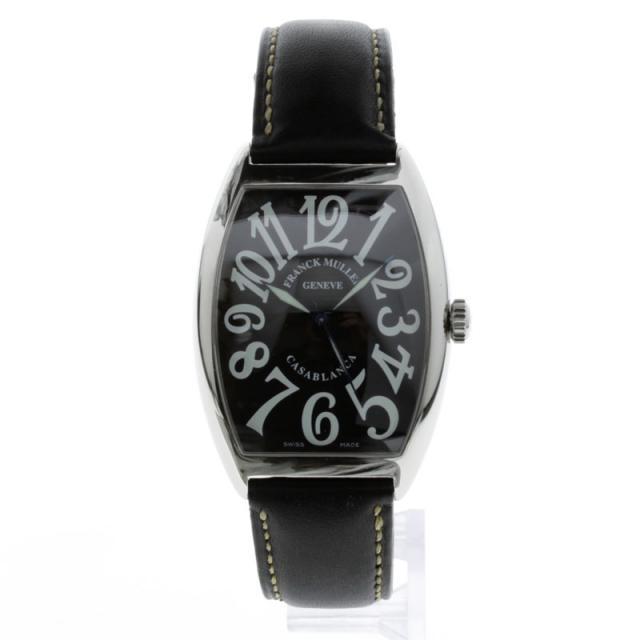 FRANCK MULLER フランク・ミュラー カサブランカ 6850 OH済み 腕時計 SS/革 メンズ 中古
