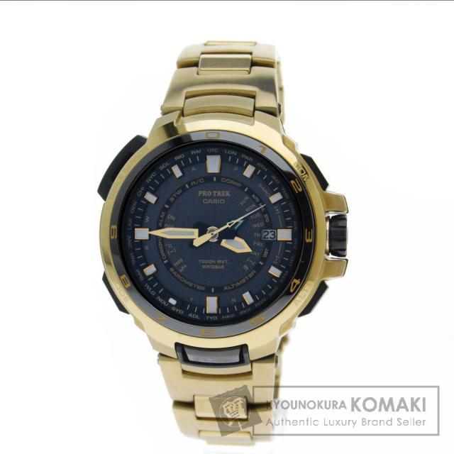 CASIO カシオ PRX-7000G プロトレックマスナル 腕時計 チタン メンズ 中古
