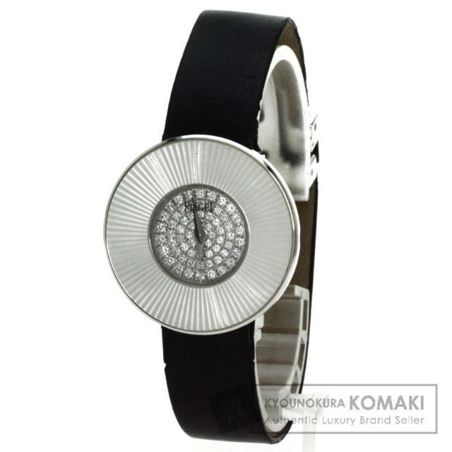 PIAGET ピアジェ ライムライト 腕時計 K18ホワイトゴールド/革 レディース 中古