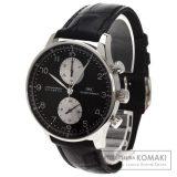 IWC インターナショナルウォッチカンパニー IW3714 ポルトギーゼ 腕時計 OH済 K18ホワイトゴールド/アリゲーター メンズ 中古