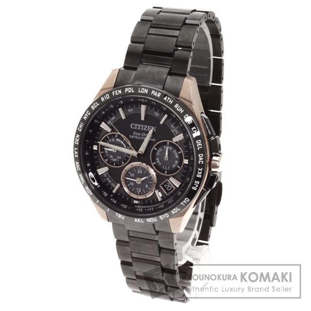 CITIZEN シチズン F900-T021565 アテッサ 腕時計 チタン/チタン メンズ 中古