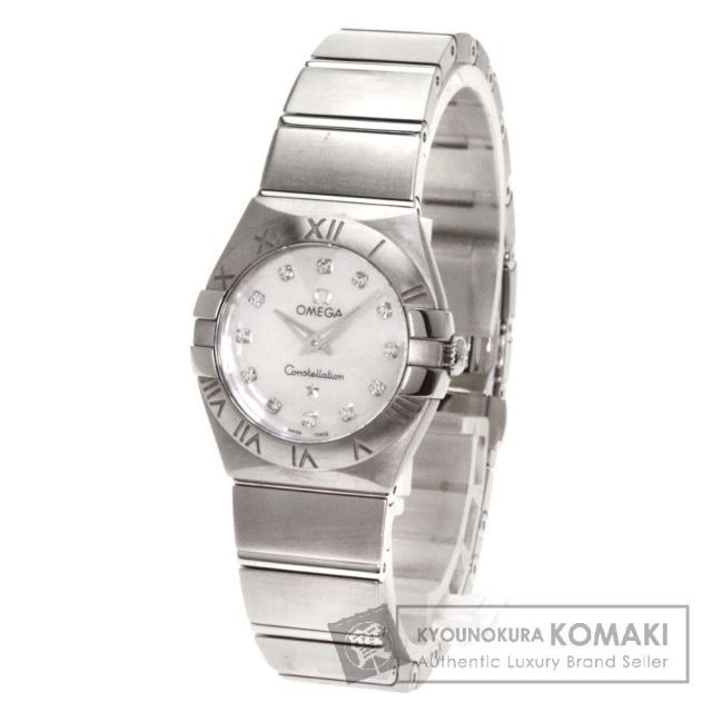 super popular 188fa 97c80 OMEGA オメガ コンステレーション 12Pダイヤモンド 腕時計 ...