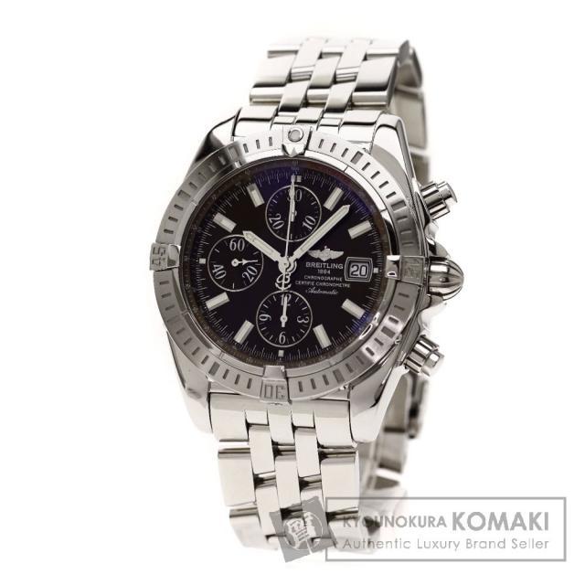 BREITLING A13356/A156Q25PA クロノマット エボリューション 日本限定400本 腕時計 OH済 ステンレス メンズ 中古 ブライトリング