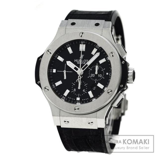 HUBLOT 301.SX.1170.GR ビックバン 腕時計 ステンレス/アリゲーターラバー メンズ 中古 ウブロ