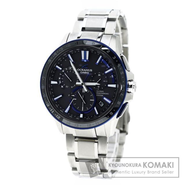 CASIO OCW-G1200 オシアナス 腕時計 チタン メンズ 中古 カシオ