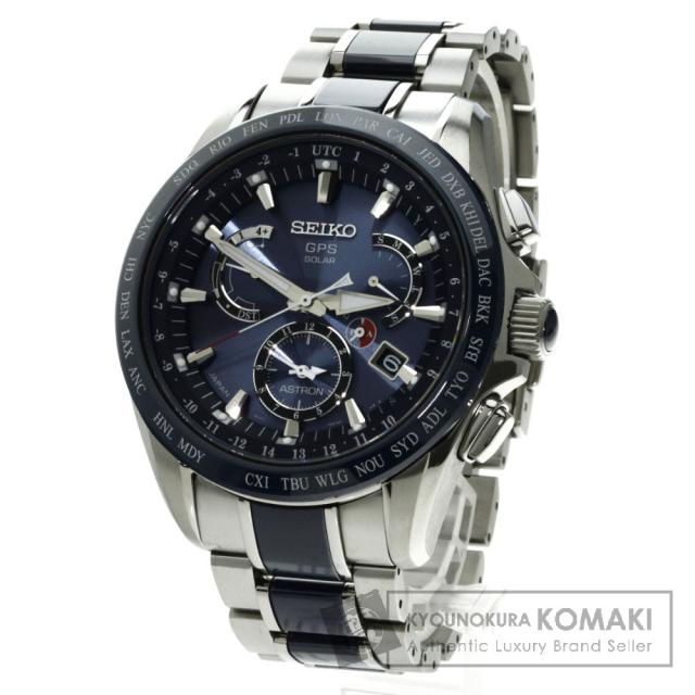 SEIKO 8X53-0AB0-2 アストロン GPS 腕時計 チタン/チタン メンズ 中古 セイコー