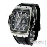 HUBLOT 601.NX.0173.LR スピリットオブビッグバン 腕時計 チタン/アリゲーターラバー メンズ 中古 ウブロ