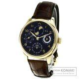 IWC IW503202 ポルトギーゼ ダブルムーン 腕時計 K18ピンクゴールド/アリゲーター メンズ 中古 インターナショナルウォッチカンパニー