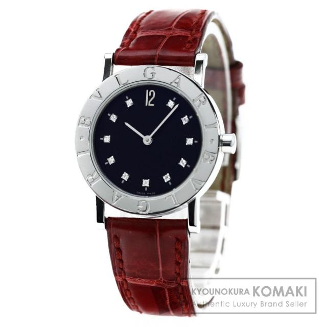 BVLGARI BB30SLD ブルガリブルガリ 腕時計 ステンレス/アリゲーター ボーイズ 中古 ブルガリ