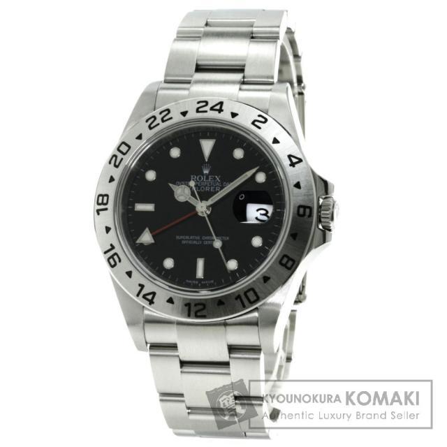 ROLEX Ref.16570 エクスプローラー2 腕時計 ステンレス/SS メンズ 中古 ロレックス