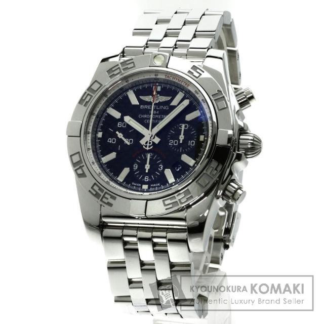 BREITLING AB0110 クロノマット44 日本限定400本 腕時計 ステンレス メンズ 中古 ブライトリング