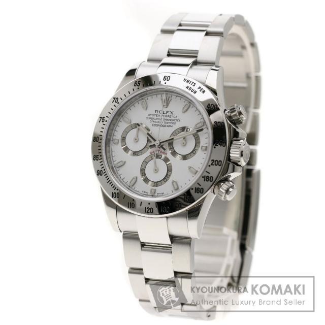 ROLEX 116520 デイトナ 腕時計 ステンレス メンズ 中古 ロレックス