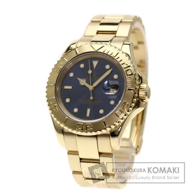 ROLEX 16628 ヨットマスター 腕時計 K18イエローゴールド/K18YG メンズ 中古 ロレックス