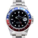 ROLEX ロレックス 16710 GMTマスター2 青赤ベゼル レッド ブルー K番 腕時計SS 中古 cabiadcf 送料・代引手数料無料 あす楽・今日着対応 返品可能