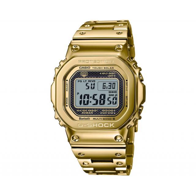 GMW-B5000TFG-9JR CASIO G-SHOCK ORIGIN Bluetooth搭載 電波時計 カシオ Gショック オリジン 35周年記念モデル ソーラースマートフォンリンク ゴールド フルメタル スクリューバック 金色 メンズ 腕時計 新品未使用品