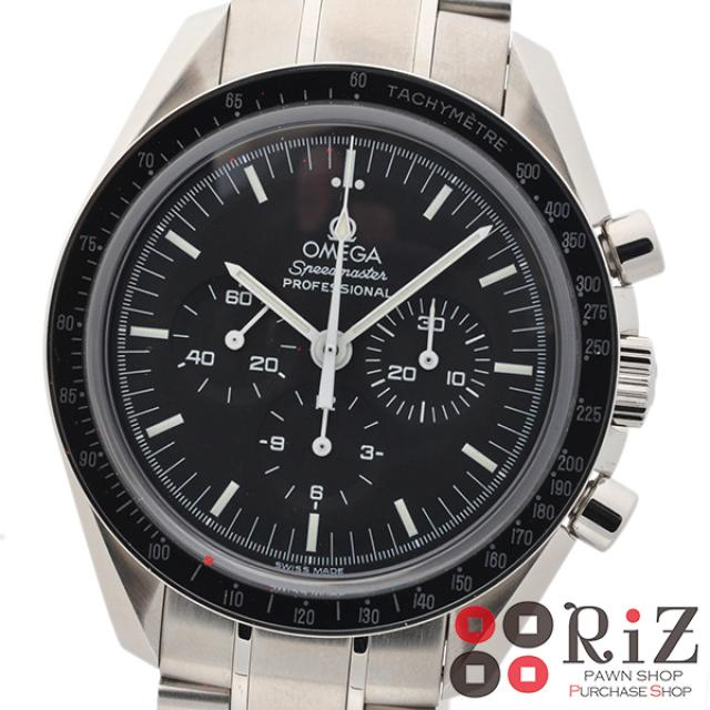 OMEGA (オメガ) スピードマスター プロフェッショナル 時計 手巻き/メンズ Black 3573.50 A:良好品 中古