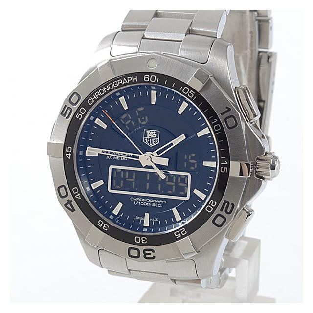 タグホイヤー TAG Heuer アクアレーサークロノタイマー CAF1010.BA0821メンズ腕時計 ステンレス 中古 A品