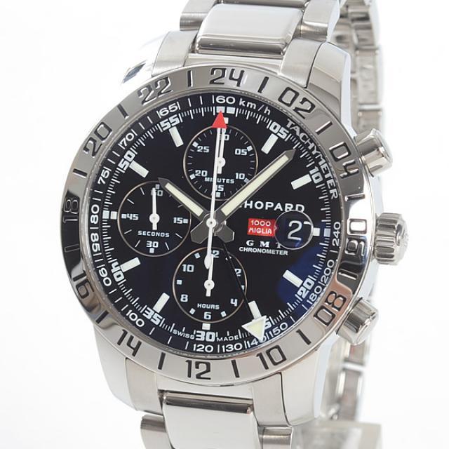 ショパール Chopard ミッレミリアGMT XL 15/8992-3001メンズ腕時計 ステンレス 中古 A品