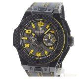 ウブロ HUBLOT ビッグバン フェラーリ 401.CQ.0129.VRメンズ腕時計 セラミック/カーボン 中古 A品