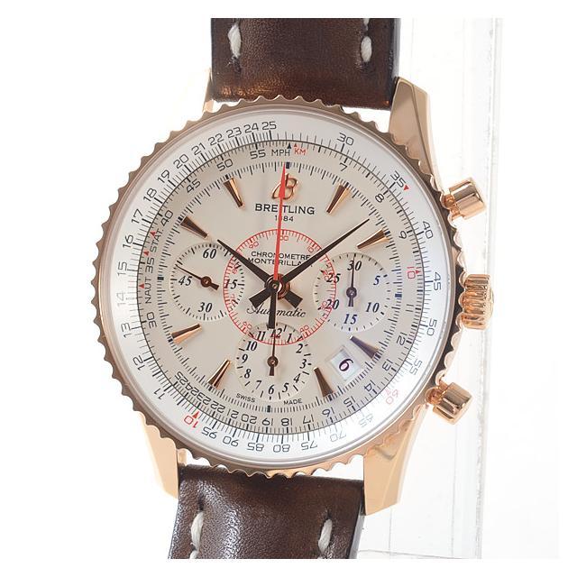 ブライトリング BREITLING モンブリラン01.リミテッド RB013112メンズ腕時計 ローズゴールド 中古 A品