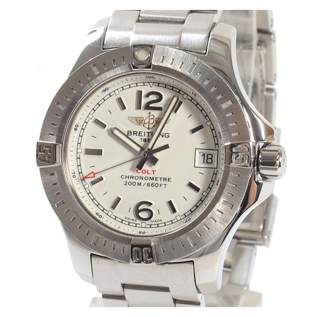 ブライトリング BREITLING コルト レディ A7738811/G793レディース腕時計 ステンレス 中古 A品
