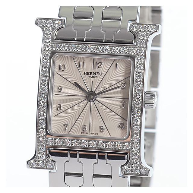エルメス HERMES Hウォッチ HH1.230レディース腕時計 ステンレス 中古 A品