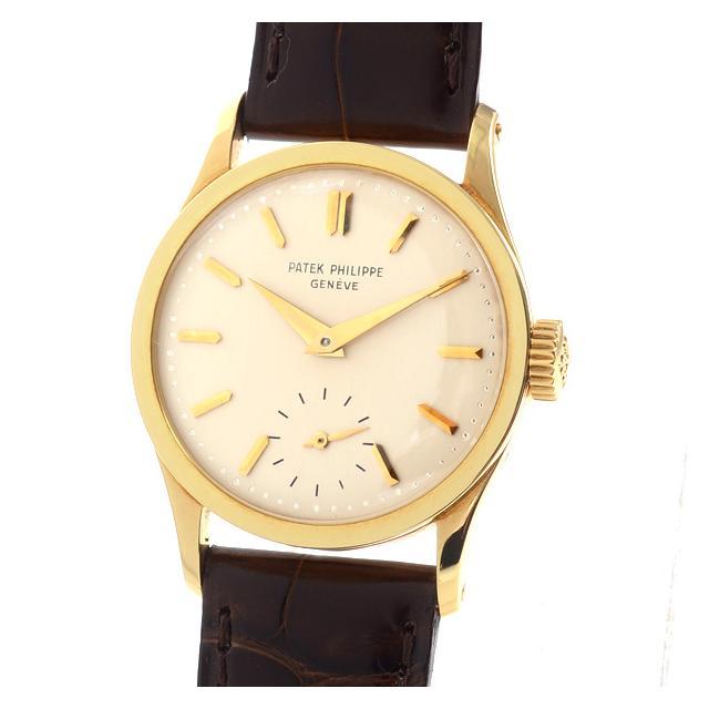 パテックフィリップ PATEKPHILIPPE カラトラバ 96Jメンズ腕時計 イエローゴールド 中古 A品