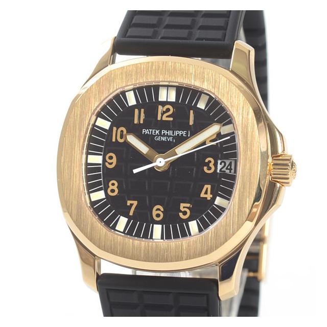 パテックフィリップ PATEKPHILIPPE アクアノート ミディアム 5066J-001メンズ腕時計 イエローゴールド 中古 A品